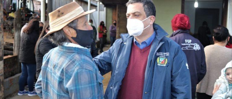 Vacinação no Capané encerra roteiro no interior