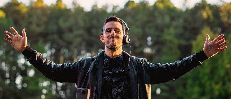Final de semana com live do DJ Cassiano Mello no Parque Witeck