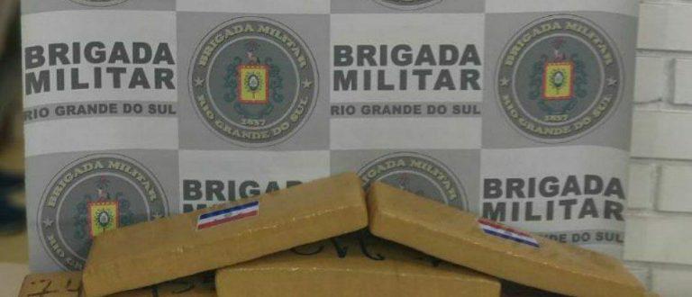 Maconha: BM apreende mais de 5 quilos no Fátima