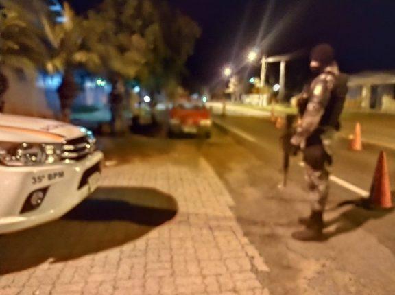 BM de Cachoeira do Sul realiza Operação Avante Visibilidade