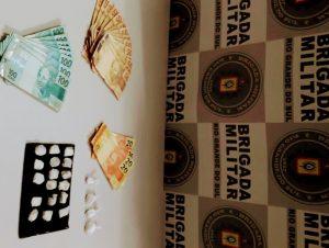 Habitar Brasil: BM apreende porções de cocaína e de maconha