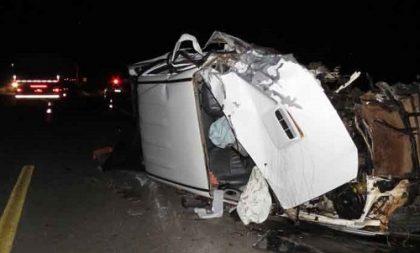 Acidente mata duas mulheres na RSC-287