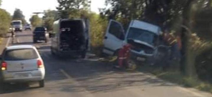 Motorista de Cachoeira do Sul se envolve em acidente na ERS-400