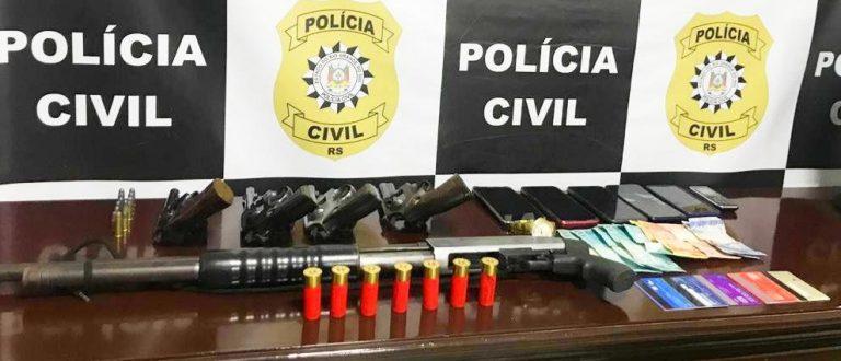 Polícia Civil prende oito envolvidos em ataque a ônibus de excursão