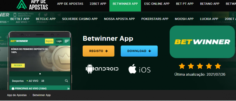 Download Betwinner.apk (Mobile App) para Android
