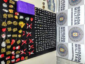 Noêmia: jovem é preso com 220 pedras de crack