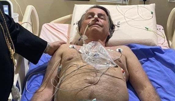 """Internado, Bolsonaro culpa """"tentativa de assassinato"""" por """"braço esquerdo do PT"""""""