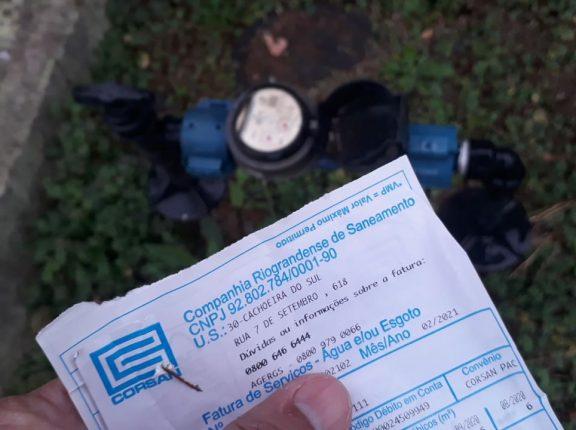Decreto prorroga proibição no corte de água em Cachoeira