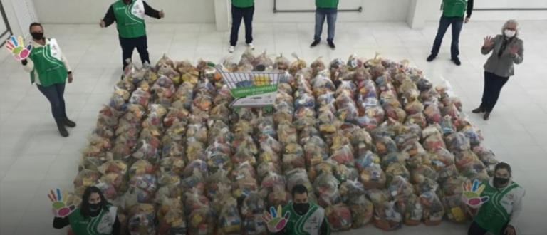 Sicredi Centro Leste RS arrecada mais de 33 toneladas de alimentos