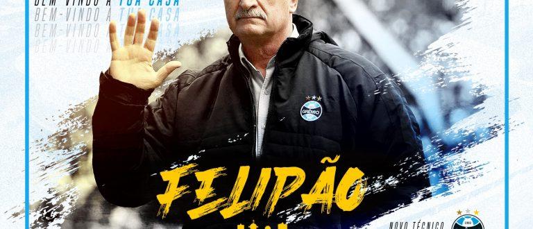 Grêmio oficializa Felipão
