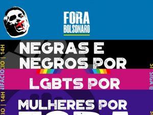 Novo ato contra Bolsonaro convoca mulheres, negros e LGBTs