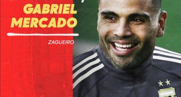 Inter contrata zagueiro Gabriel Mercado