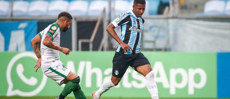 Grêmio e América-MG empatam em 1 a 1, na Arena