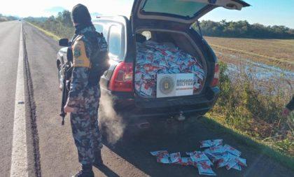 RSC-287: Batalhão Rodoviário prende dupla que transportava agrotóxicos contrabandeados