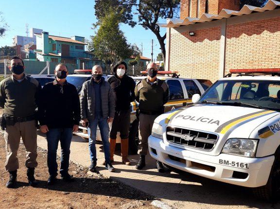 Grupo de Apoio recupera duas viaturas da Brigada Militar