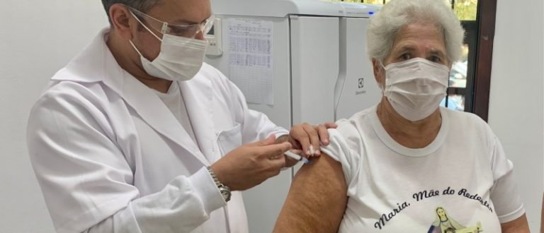 Dia de vacinação na zona rural
