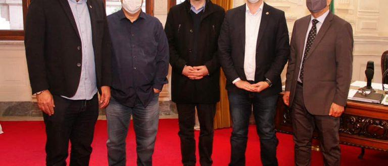 Fenarroz busca apoio na Casa Civil do Governo do Estado