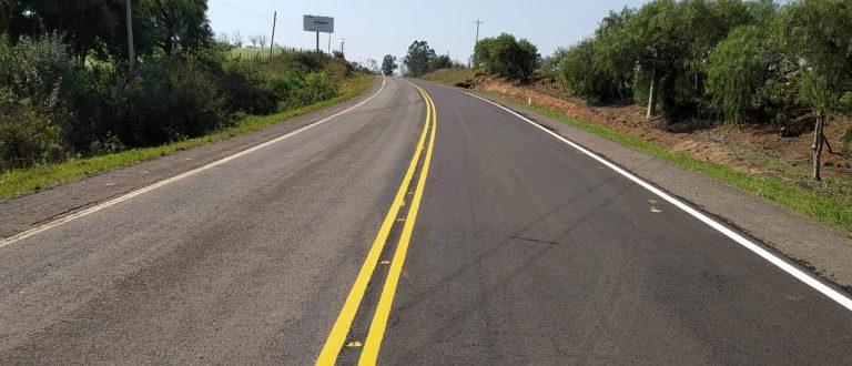 Estado conclui serviços de recuperação em rodovias da Região Central