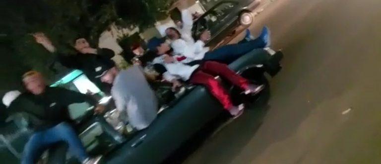 Após baderna viralizada em vídeo, Brigada recolhe veículo em Cachoeira