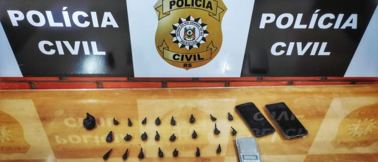 Bairro Vila Verde: Polícia prende dois com porções de cocaína