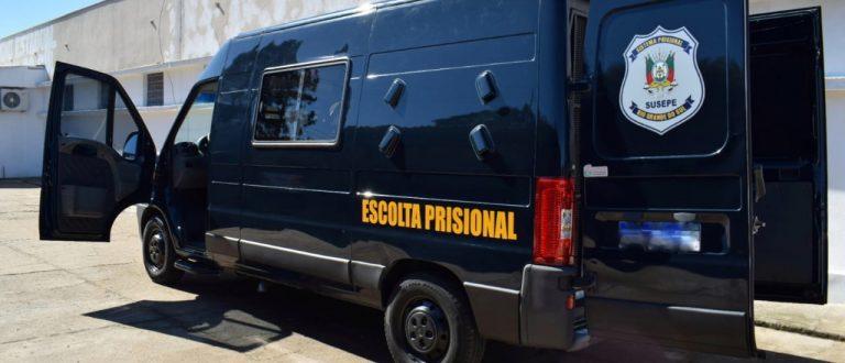Presídio de Cachoeira ganha viatura para reforçar o trabalho penitenciário