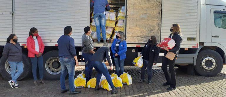 Grupo Grazziotin doa 312 cestas básicas à STAS