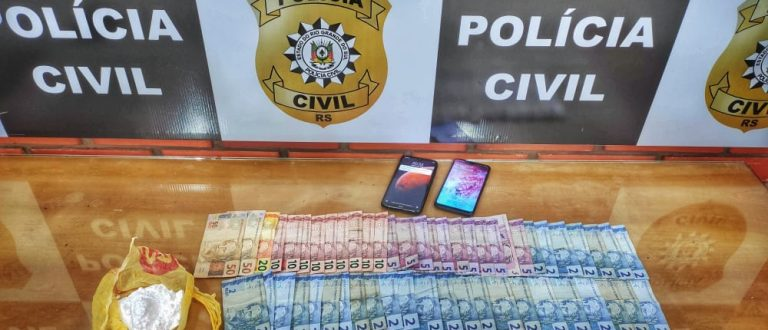 Cocaína na Quinta: Polícia prende traficante