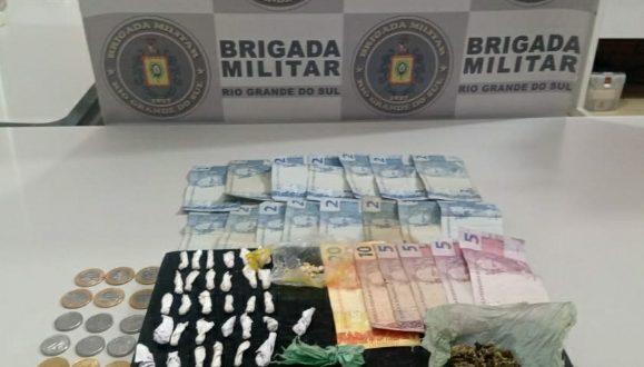 BM prende mulher por tráfico no Funcap