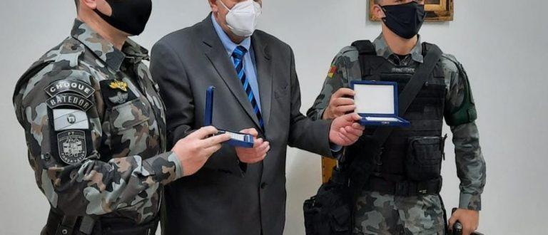 Policiais militares de Cachoeira do Sul são homenageados