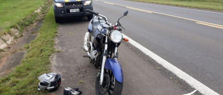 BR-471: acidente com moto de Cachoeira deixa dois feridos