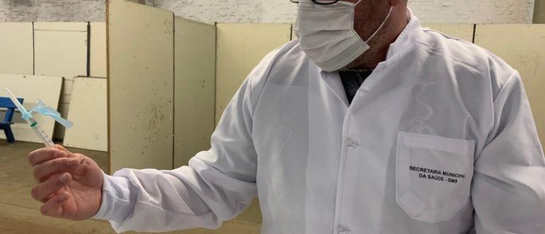 Cachoeira amplia idade para vacina contra Covid