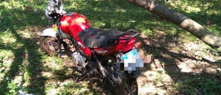 Brigada Militar recupera moto que havia sido furtada