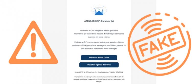 DetranRS alerta sobre falsos e-mails de multas e penalidades