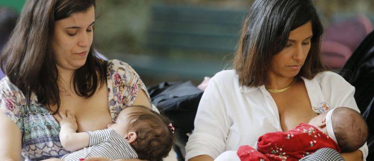 Agosto Dourado: amamentação previne doenças da infância