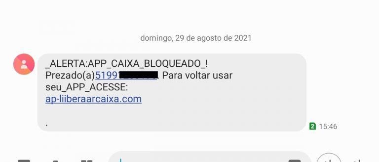 Golpe do SMS de aplicativo de banco bloqueado avança em Cachoeira do Sul