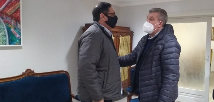 José Otávio garante apoio para Fenarroz