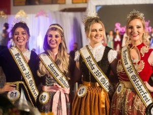 Luana, Amanda e Renata são as Soberanas da 36ª Oktober