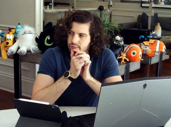 Animador brasileiro troca o cinema pela indústria de games