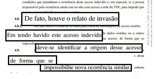 Segurança nas eleições: Bolsonaro usa documentos do próprio TSE