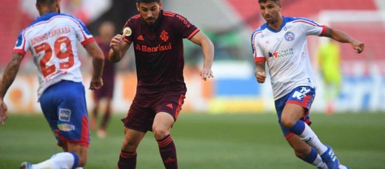 Inter segue série de vitórias: 2 a 0 em cima do Bahia