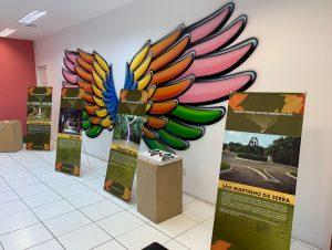 Cachoeira está na Mostra do Turismo da Região Central do Estado