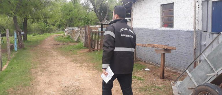 Alta do Jacuí: Defesa Civil prepara remoção das primeiras famílias