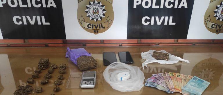 Bom Retiro e Tupinambá: Polícia detém dois jovens por tráfico