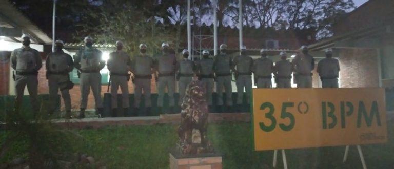 BM de Cachoeira do Sul recebe apoio de alunos soldados