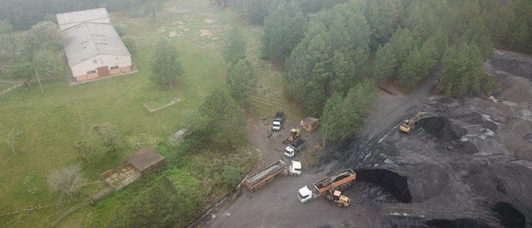 Empresa nega extração irregular de carvão no Piquiri