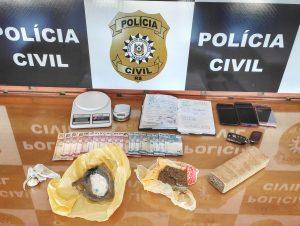 Polícia prende mulher com cocaína e maconha no Bairro Gonçalves