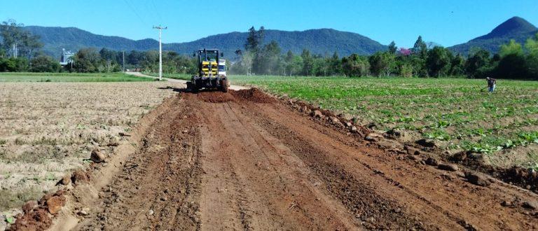 Paraíso do Sul concentra reparos nas estradas do interior