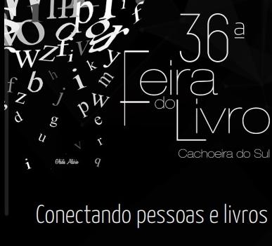 Vem chegando a 36ª Feira do Livro de Cachoeira do Sul
