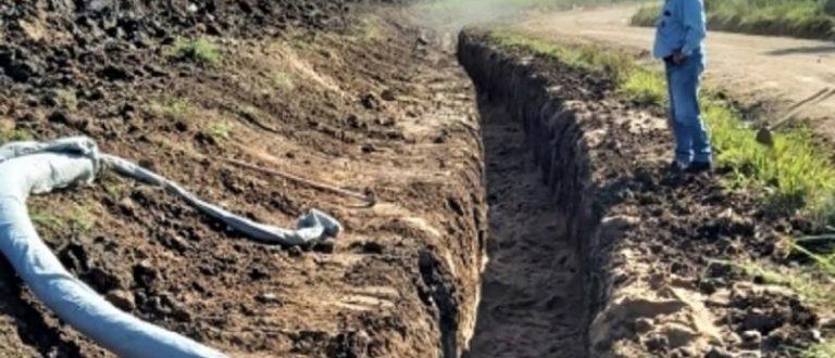 Obra emergencial na barragem do Capané permite retomada de irrigação de lavouras de arroz