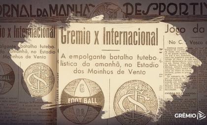 Grêmio celebra o 86º ano do Gre-Nal Farroupilha